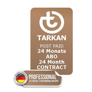 24 month SUBCRIPTION - TARKAN Professional + 20 country FLAT
