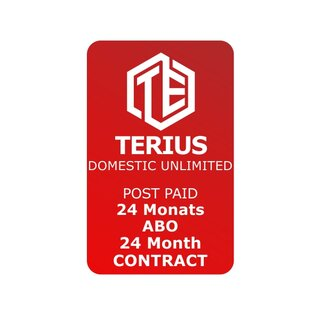 TERIUS STANDARD SUBSCRIPTION - 24 months contract period - 250GB a month - Netherlands