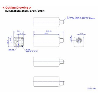 PLL LNB, Internal Reference, Ku Band LNBC, NJR2835SN